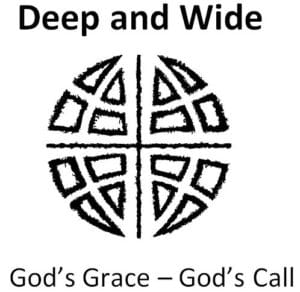 God's grace is deep and wide