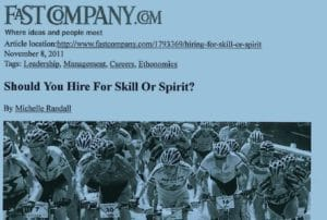 Should you Hire for Skill or Spirit?